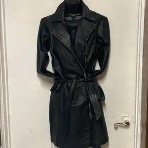 Amazing Newport News Black Leather Coat